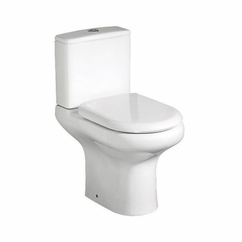 RAK Compact Full Access Close Coupled Toilet & Soft Close Seat